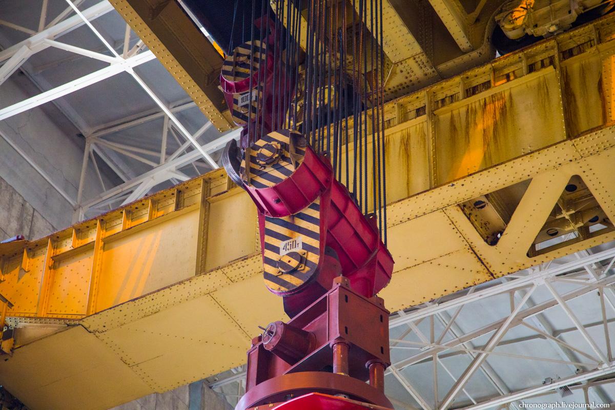 Монтаж рабочего колеса гидроагрегата №7 на Жигулёвской ГЭС 0_112350_2bb6431f_orig