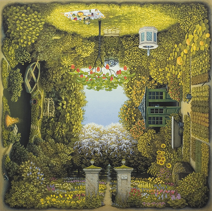 4Siders: Paintings by Jacek Yerka