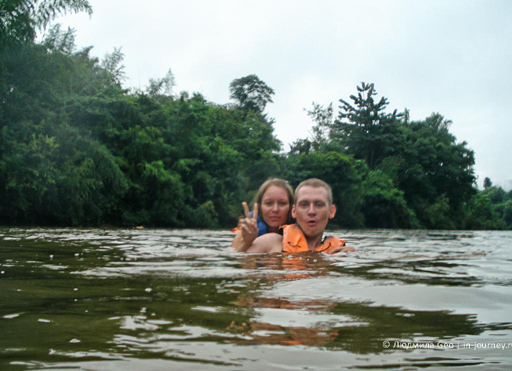 сплав река квай таиланд