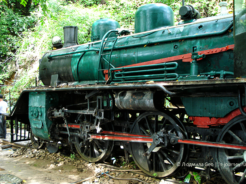 поезд-мемориал в канчанабури