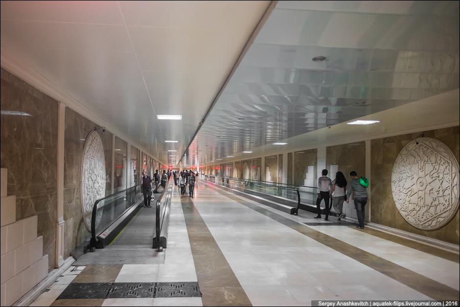 Подземные переходы в Баку