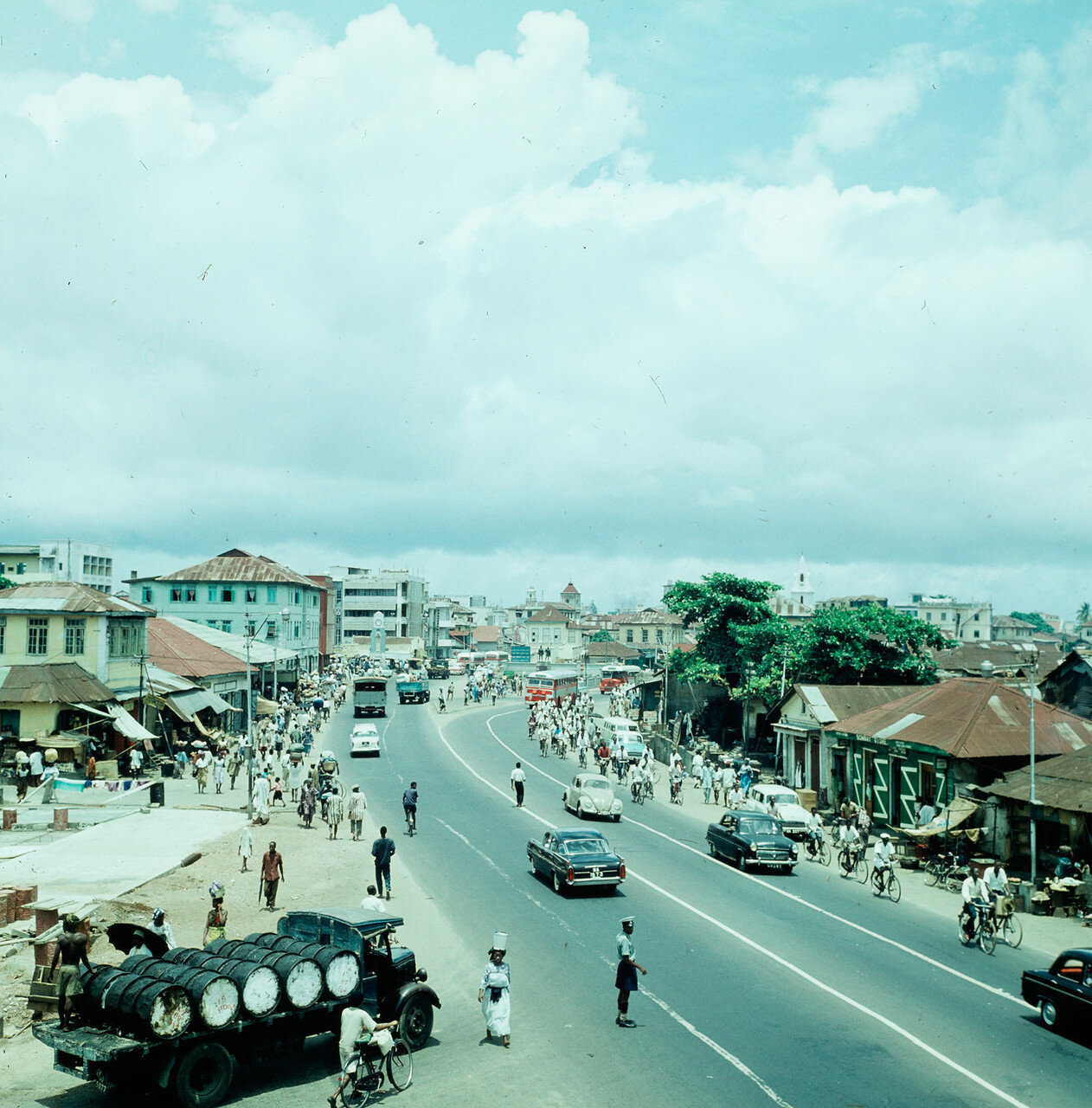 Лагос, Нигерия. Уличная сцена