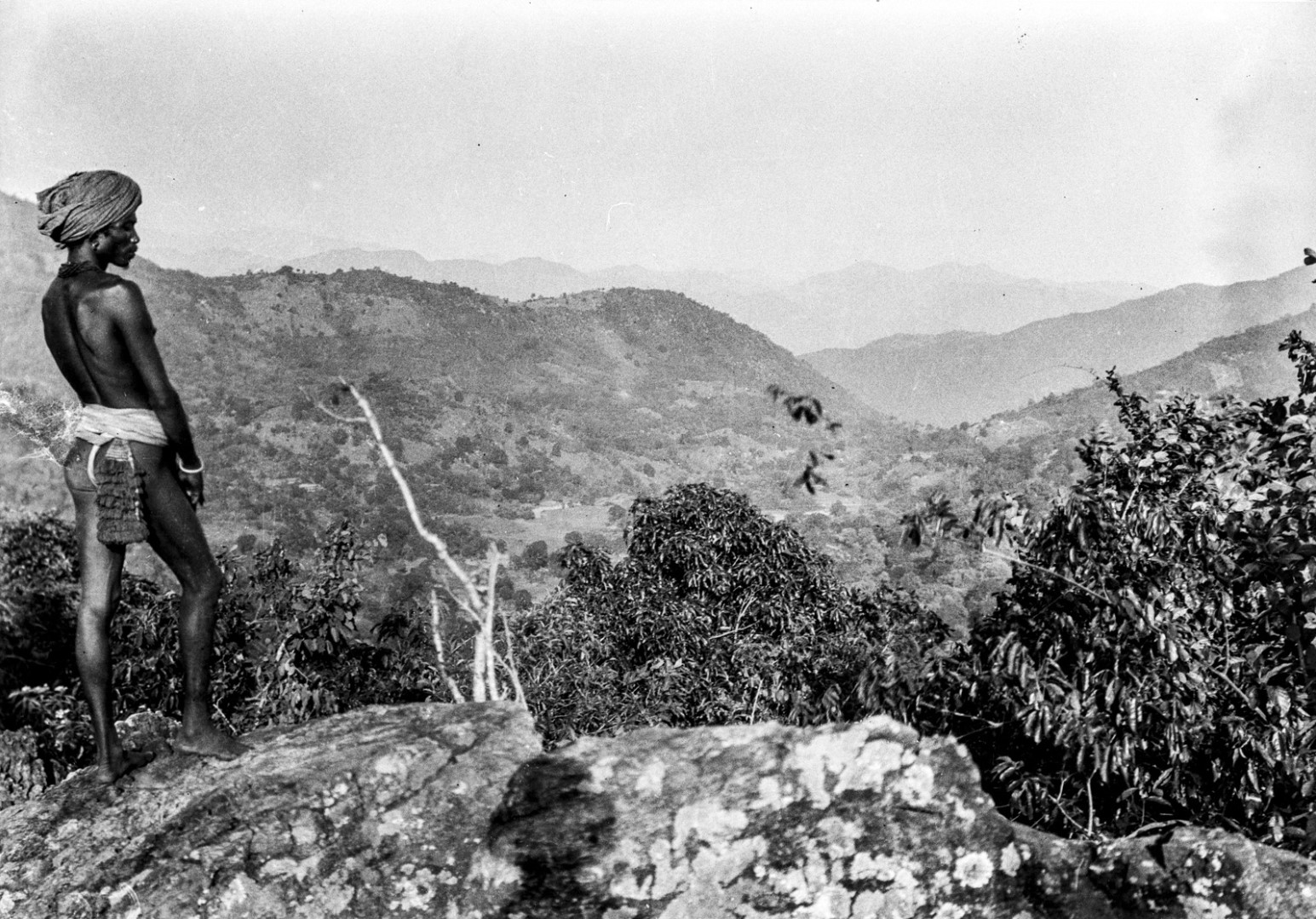 629. Раягада. Вид окружающей местности