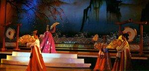 Анна Печенова, Тайланд, танцы