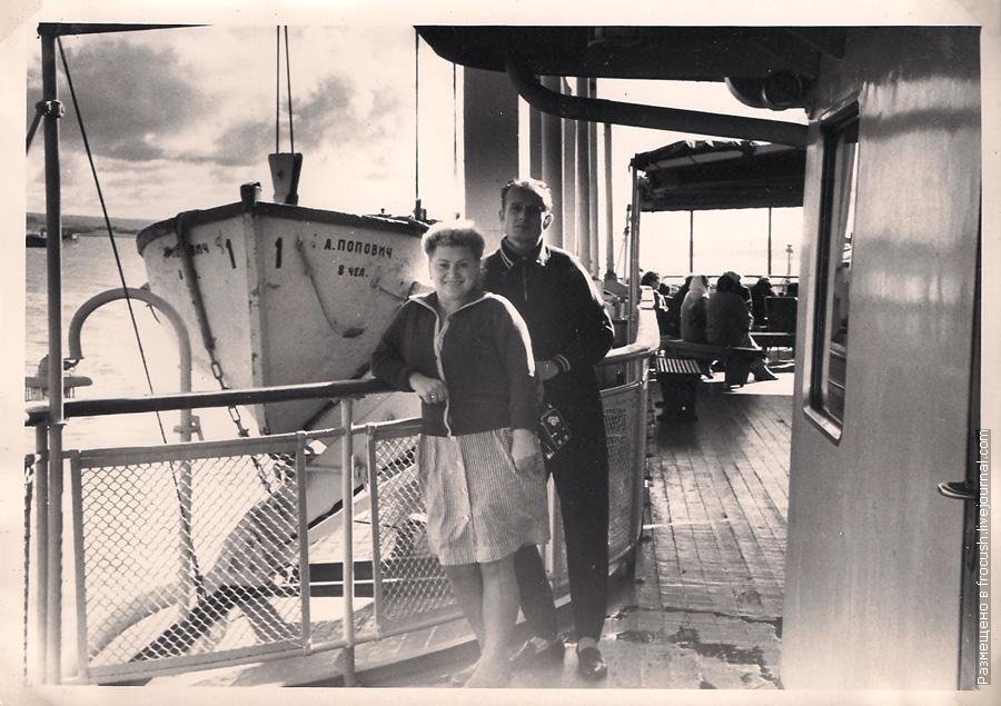 речной круиз Ленинград — Астрахань — Ленинград на теплоходе «Алеша Попович» в сенябре 1965 года