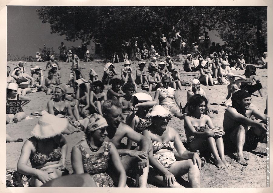 зеленая стоянка Никольское 1965 год