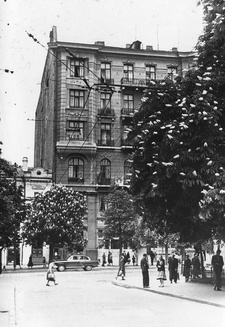 1960-е. Улица Ленина (сейчас улица Богдана Хмельницкого). Фото: Юдин В.П.