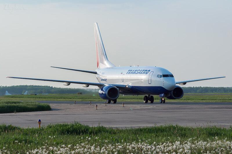 Boeing 737-7Q8 (EI-EUX) Трансаэро DSC0632