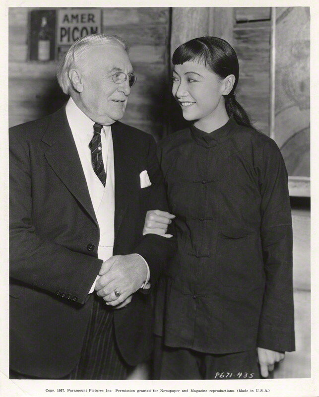 NPG x126052; Harry Gordon Selfridge; Anna May Wong