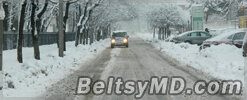 Молдова находится во власти снежной стихии