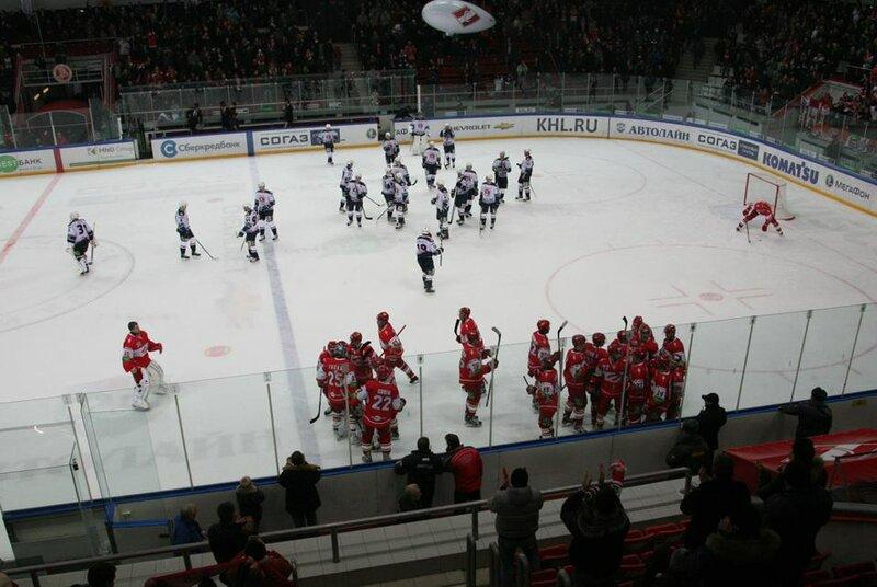 «Спартак» vs «Торпедо» 2:1 ОТ чемпионат КХЛ 2012-2013 (Фото)