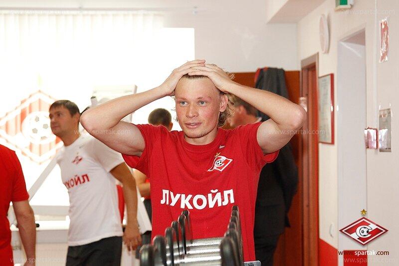 Первая тренировка «Спартака» после отпуска (Фото)