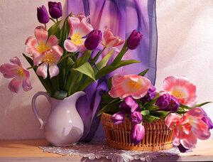 Весна из призрачных мелодий...