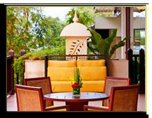 Малайзия. Лангкави. Sheraton Langkawi Beach Resort. Lobby Balcony