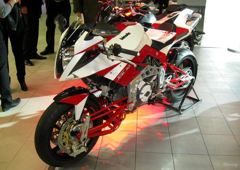 Итальянский мотоцикл Bimota Tesi 3D