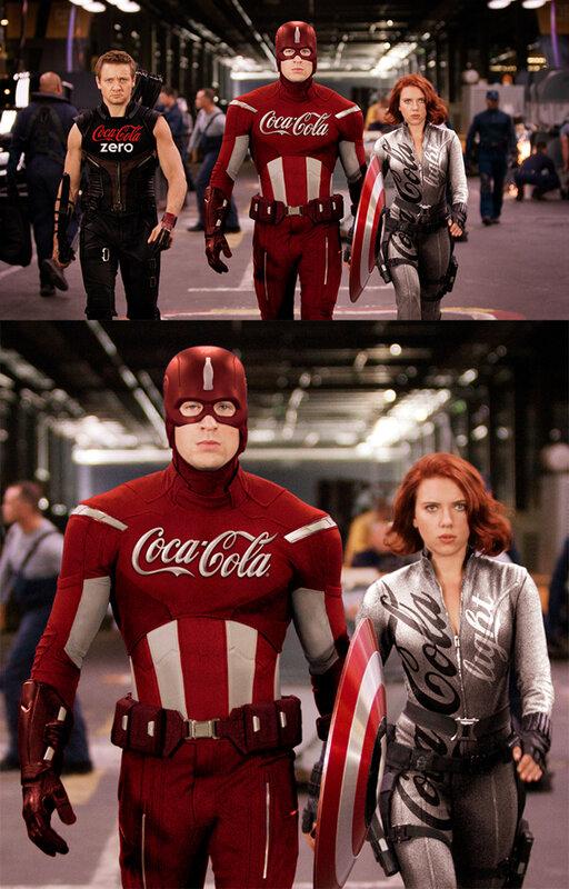 Если бы спонсорами супер–героев были супер–корпорации
