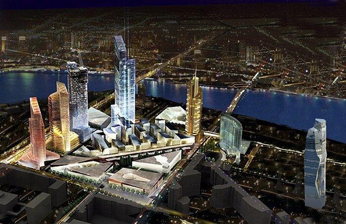 Екатеринбург-Сити. Один из проектов.