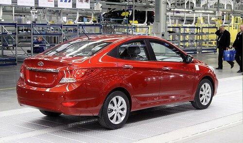 Hyundai Solaris - народный автомобиль