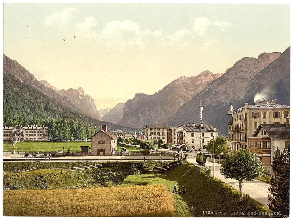 Австрия. Тироль 1890 - 1900 гг 0_80b0a_cb1d120b_orig