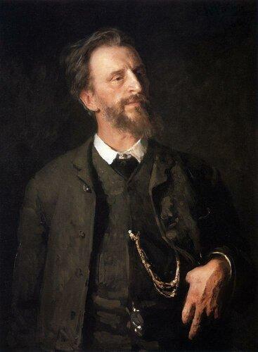 Мясоедов Григорий Григорьевич,   Портрет работы И. Репина (1904)