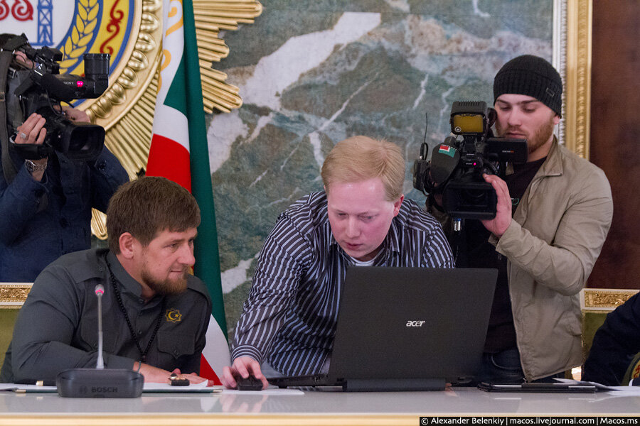 Встреча с Рамзаном Кадыровым