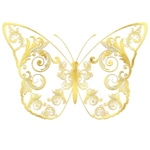 Gold Ornate Butterfly.png