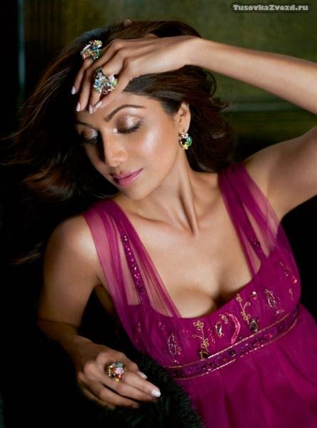 Шилпа Шетти (Shilpa Shetty) фото в журнале Harper's Bazaar Индия, октябрь 2009