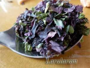 Сухие водоросли для супа