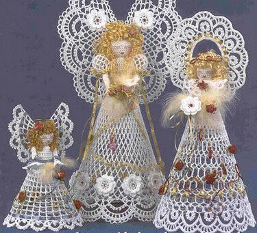 Ангелы из бумаги своими руками мастер класс