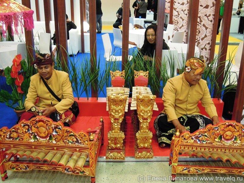 Стенд Индонезии на MITT-2013