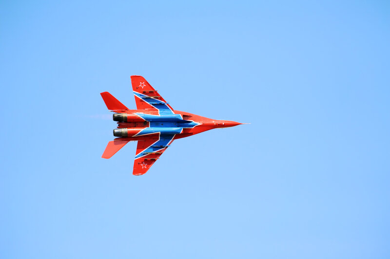 Russian Mig 29 M2 fighter plane