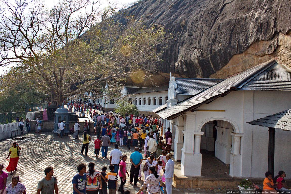 Шри-Ланка_Пещерный храм_06