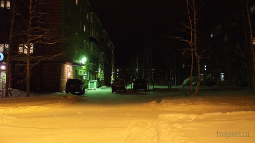 Фото города Инта №2558  Куратова 16 и 14 30.01.2013_17:36