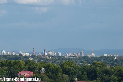 Панорама Хабаровска с помощью Leica V-Lux 3