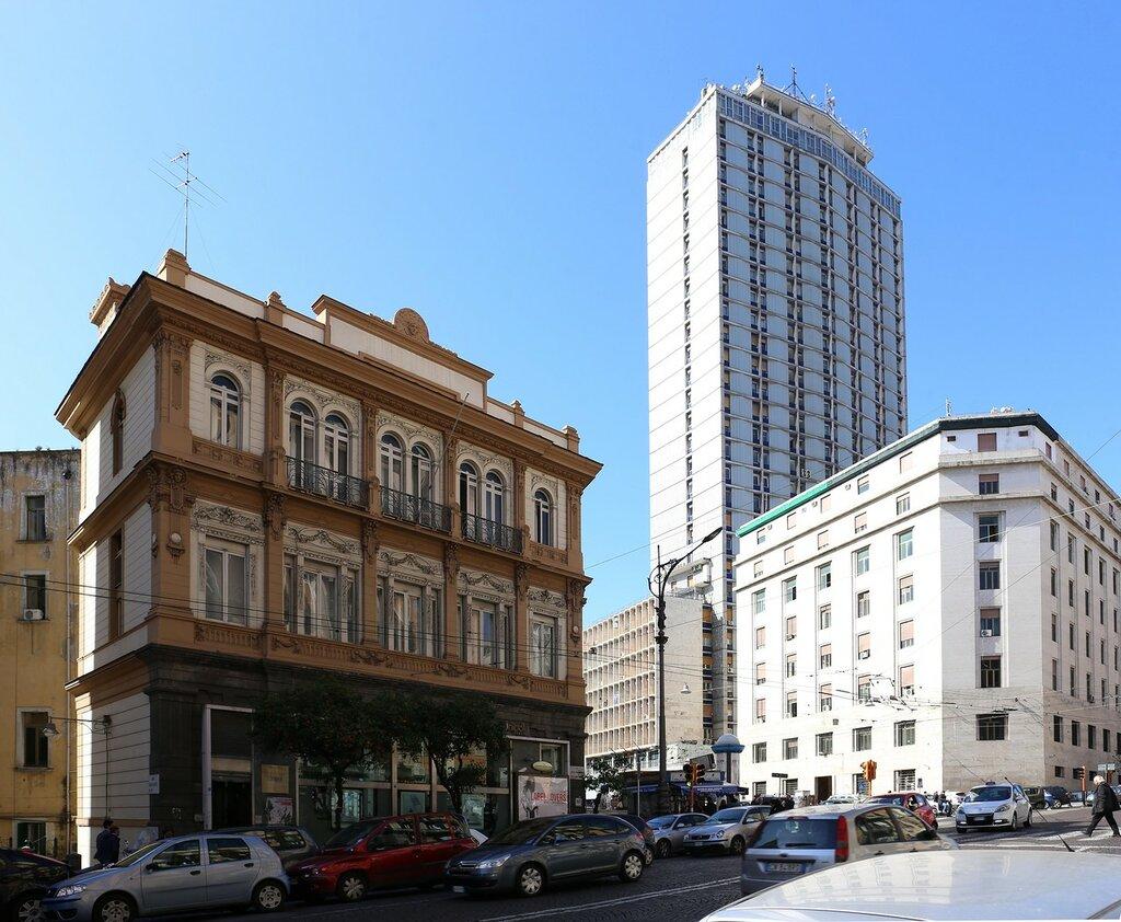 Naples. Unipol Bank building