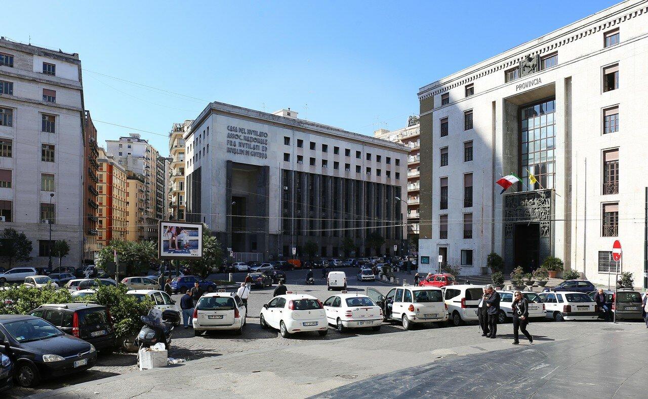 Naples. The Piazza Giacomo Matteotti Square (Piazza Giacomo Matteotti)