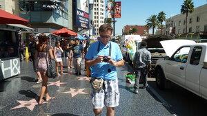 на бульваре Голливуд