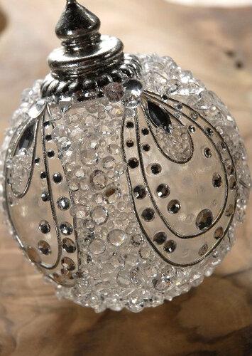 Декорирование стеклянных шаров