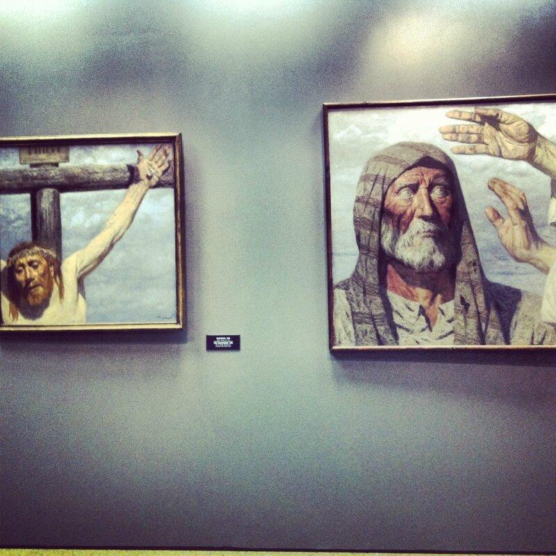 """""""Библия глазами соцреалиста. Гелий Коржев"""" в ИРРИ"""