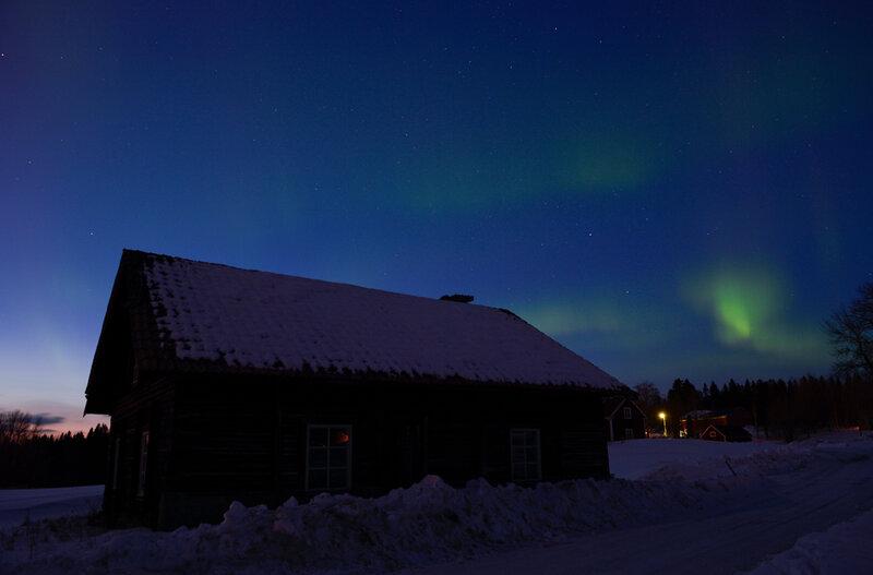 SWEDEN-SPACE-WEATHER-AURORA