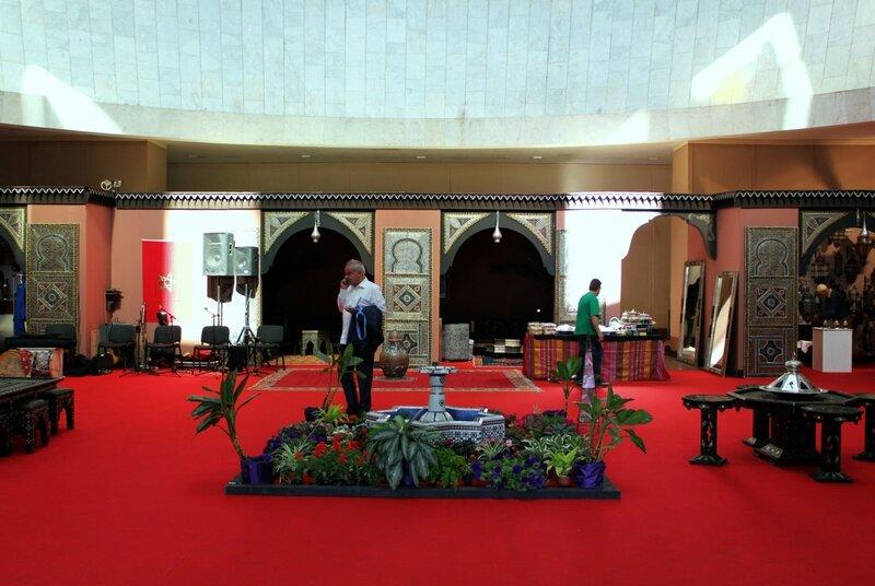 Дизайн выставки Марокко