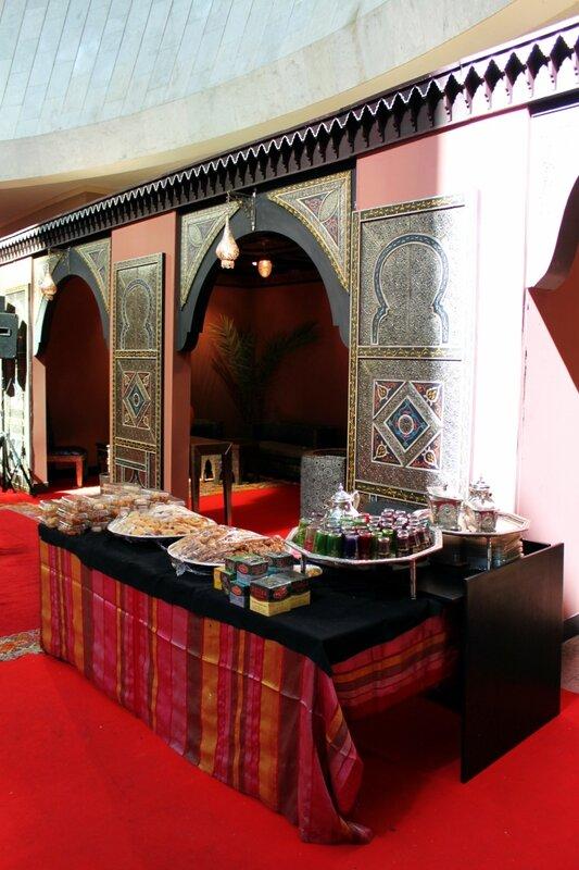 Марокканские сладости и чай