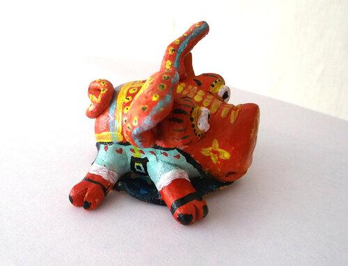 поросёнок, глиняная свинья