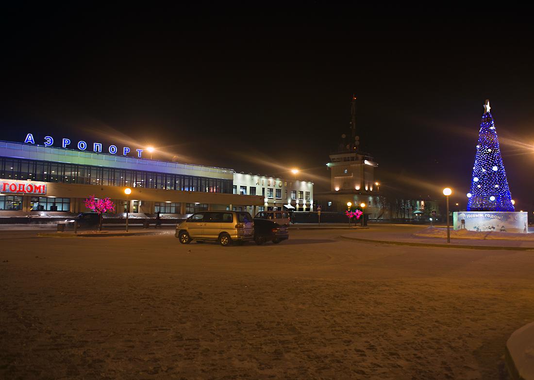Аэропорт Рощино - от прошлого в будущее
