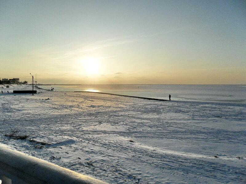 У моря, декабрь