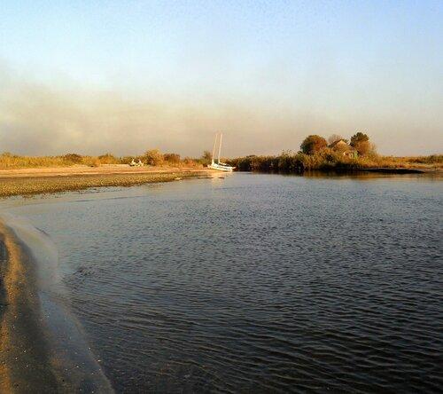 Сентябрь, берег моря Азовского