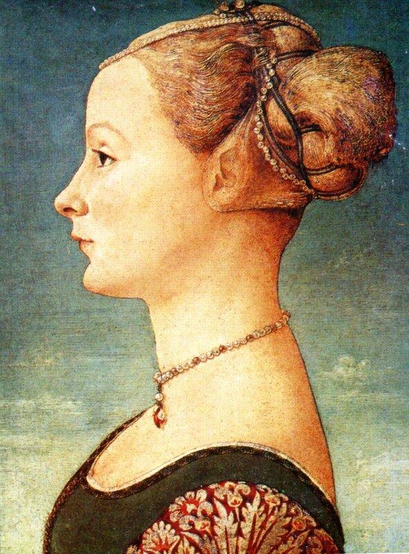 Антонио Полайоло, Женский портрет..jpg