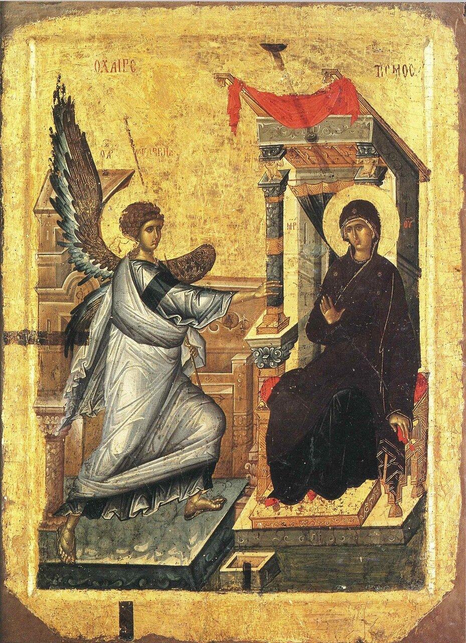 Самые важные детали в иконах Благовещения Пресвятой Богородицы