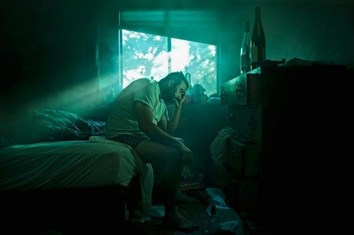 Серия фотографий из жизни Lonely Man Одинокий мужчина