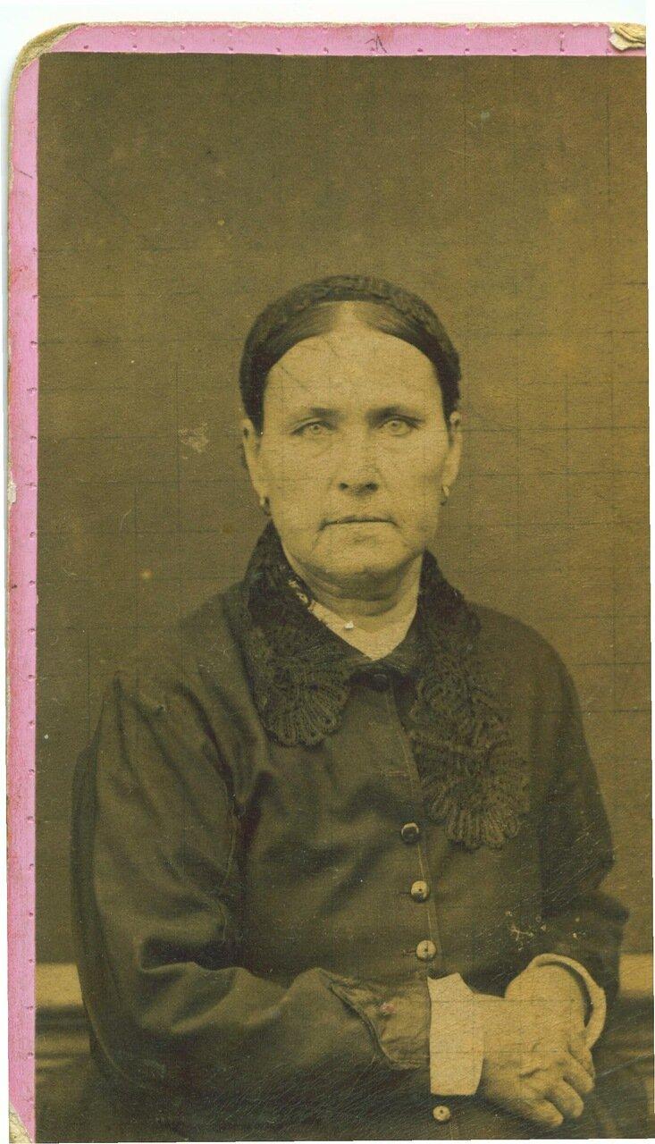 Д.С. Уварова. Снято 1888 года 18-го сентября. Тянь-Шань.
